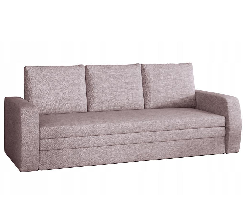 Kauč trosjed na razvlačenje Inversa Pink