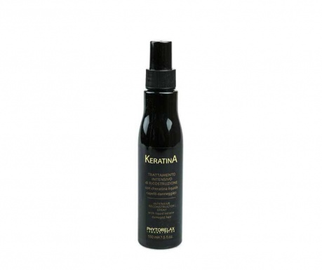 Sprej pro poškozené vlasy Keratina 150 ml