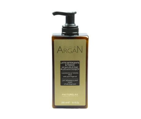 Lapte demachiant si lotiune tonica 2in1 Argan Oil 250 ml