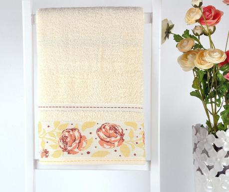 Σετ 2 πετσέτες μπάνιου Lara Roses 50x90 cm