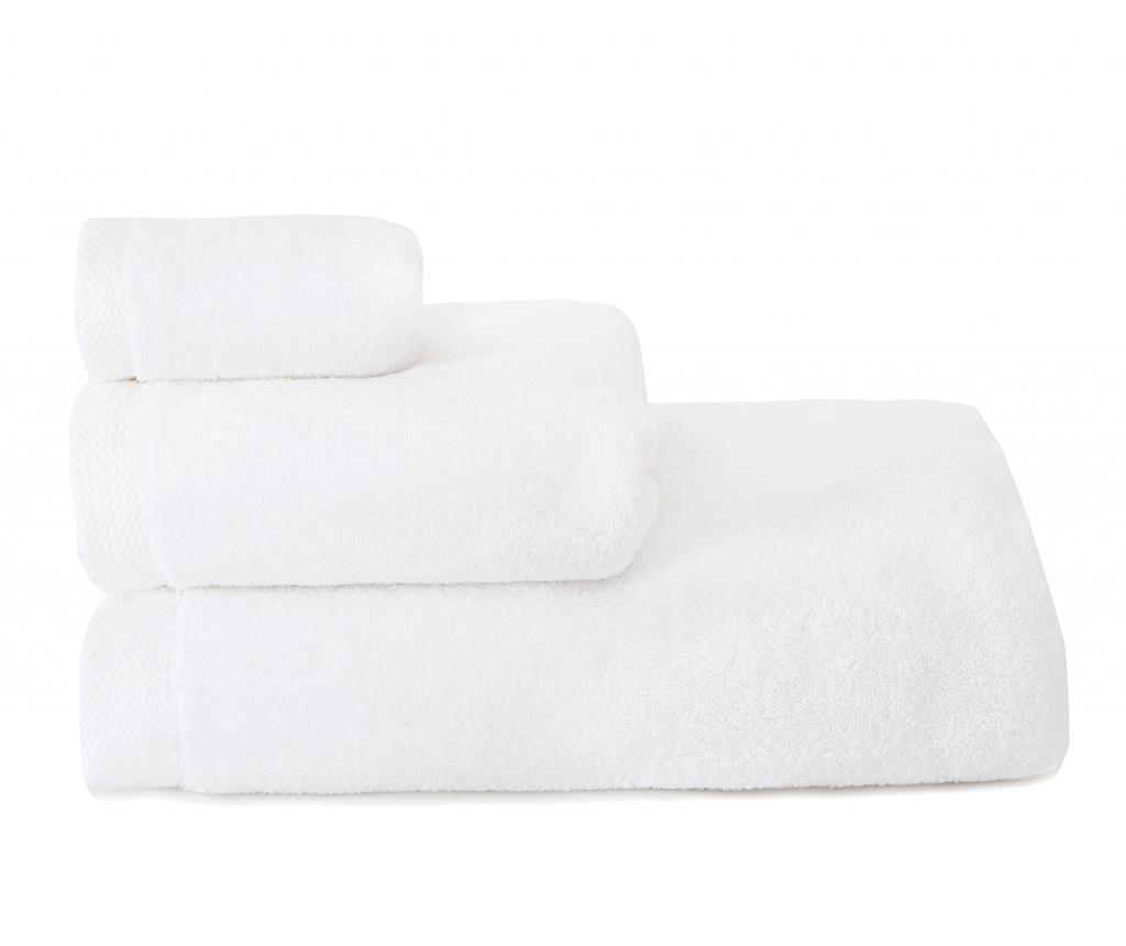 Kopalniška brisača Comfort White 30x50 cm