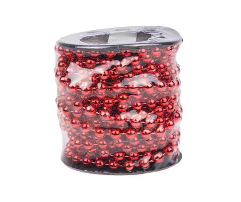 Ghirlanda Pearls Shiny Red 1500 cm