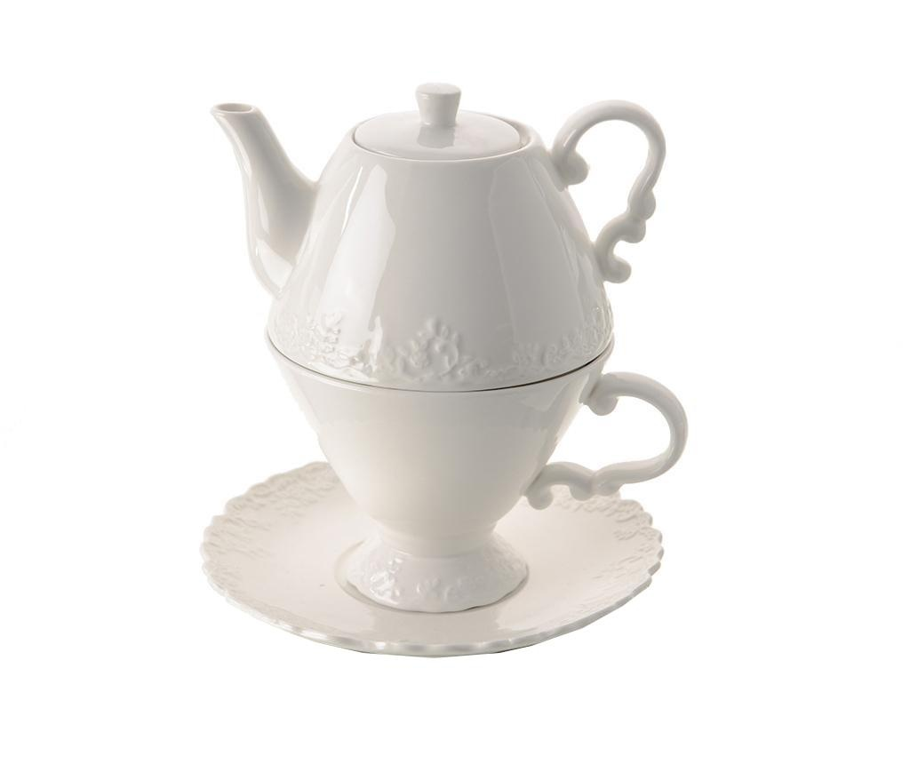 Fiore Teáskanna csészével és kistányérral