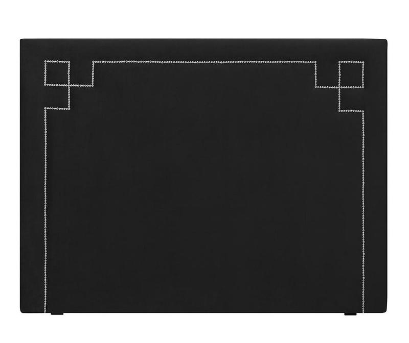 Tablie de pat Nicholas Black Silver Pins 120x140 cm
