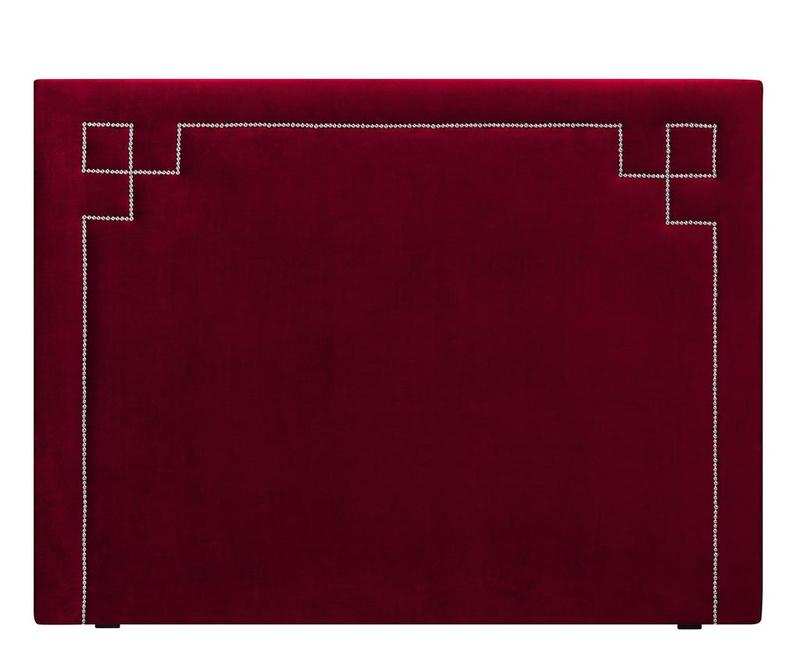 Tablie de pat Nicholas Red Silver Pins 120x160 cm