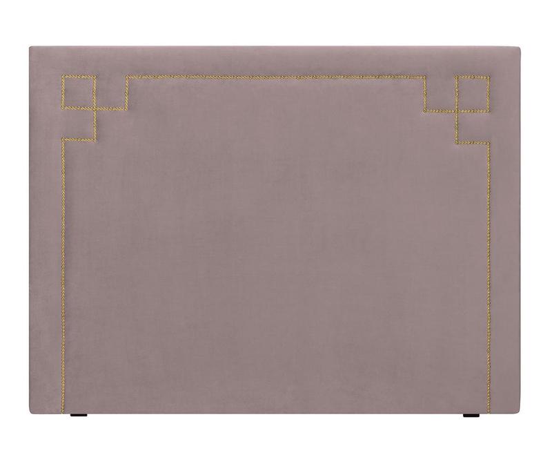 Tablie de pat Nicholas Lavander Gold Pins 120x200 cm