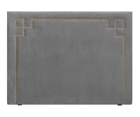 Tablie de pat Nicholas Light Grey Gold Pins 120x160 cm