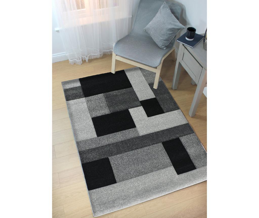 Cosmos Black Grey Szőnyeg 200x290 cm