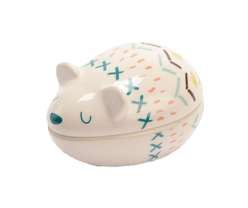 Cutie cu capac pentru dintisori Sleepy Mouse