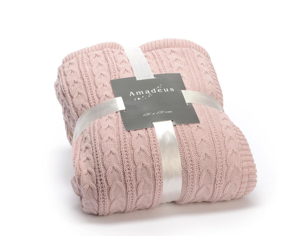 Pled Cozy Pink 130x170 cm