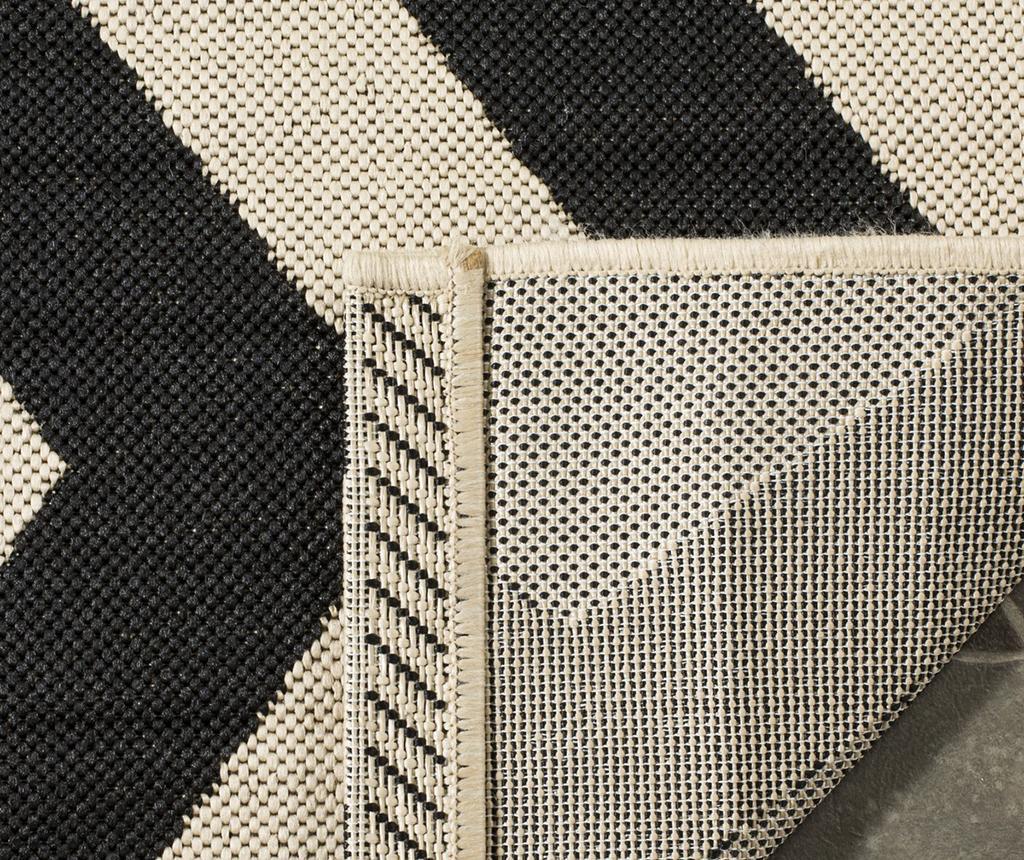 Covor Amalfi Black Beige 120x180 cm