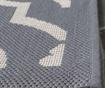 Covor Mykonos Anthracite Beige 121x170 cm