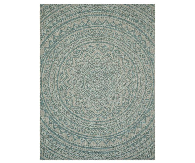 Covor Kalena Grey Aqua 120x180 cm