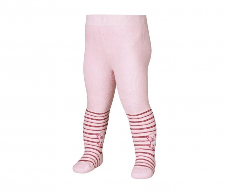 Otroške hlačne nogavice Bear Pink 8-10 mesecev