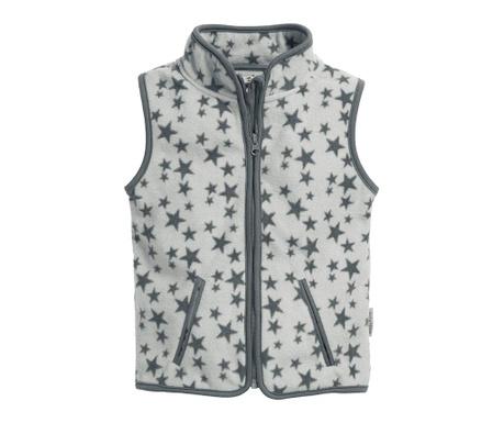 Dětská vesta Stars Grey 10 měs.