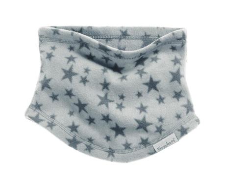 Otroški cevast zimski šal Stars Grey