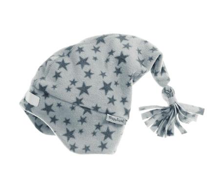 Dětská čepice Stars Grey 49 cm