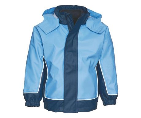 Nepromokavá dětská bunda 2 v 1 Limo Blue 10 měs.