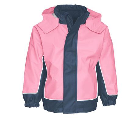 Otroška nepremočljiva jakna 2 v 1 Limo Light Pink 10 mesecev