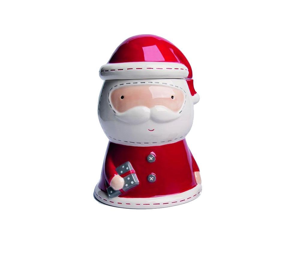 Pojemnik z pokrywką Cute Santa