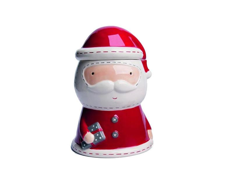 Съд с капак Cute Santa