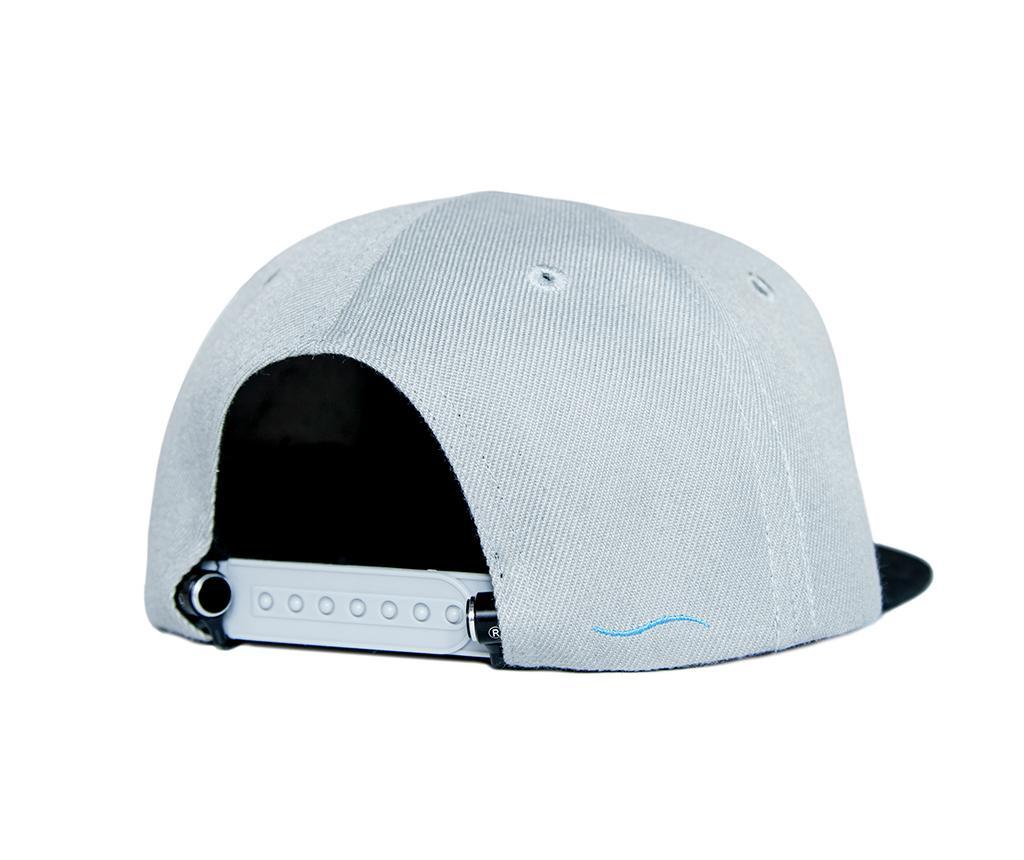 Kapa šilterica sa integriranim slušalicama hi-Cap Grey