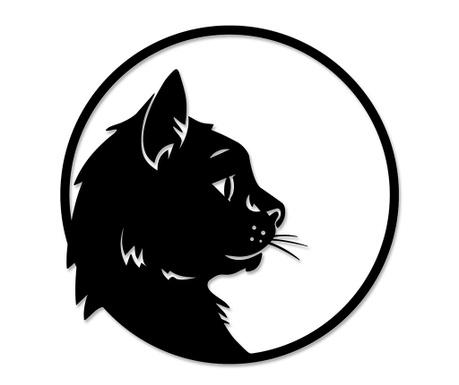 Nástěnná dekorace Cat Profile