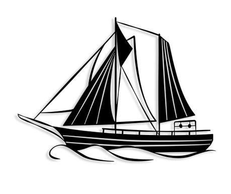 Nástěnná dekorace Sail