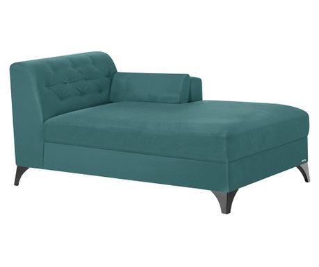 Lehátko do obýváku pravostranné Vanity Turquoise