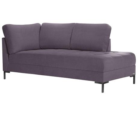 Lehátko do obýváku pravostranné Harmony Big Purple