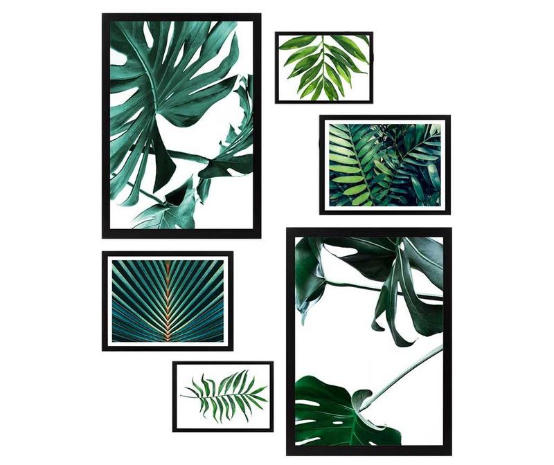 Set 6 slik Natural Green