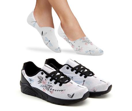 Milana Női sportcipő és zokni