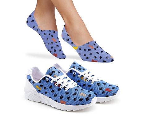 Leighton Női sportcipő és zokni
