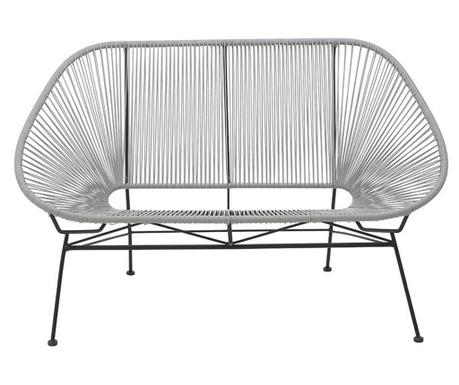 Exteriérová lavica Iolena Grey