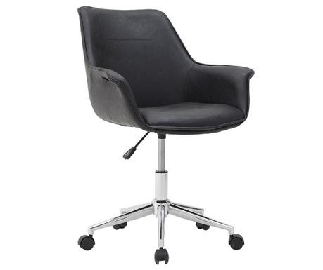 Kancelárska stolička Delvin Black