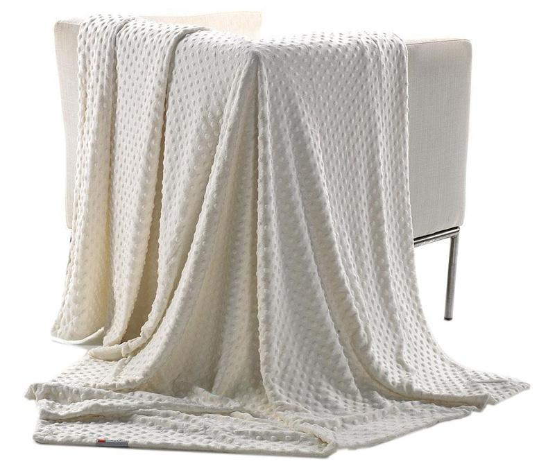 Topitos White Pléd 130x170 cm