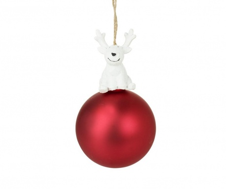 Kroglica Bauble With Reindeer
