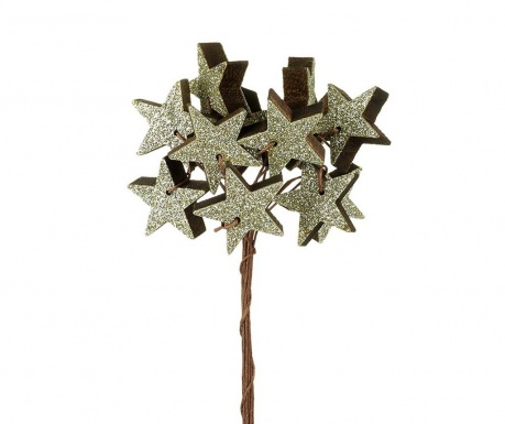 Decoratiune Silver Star Stick