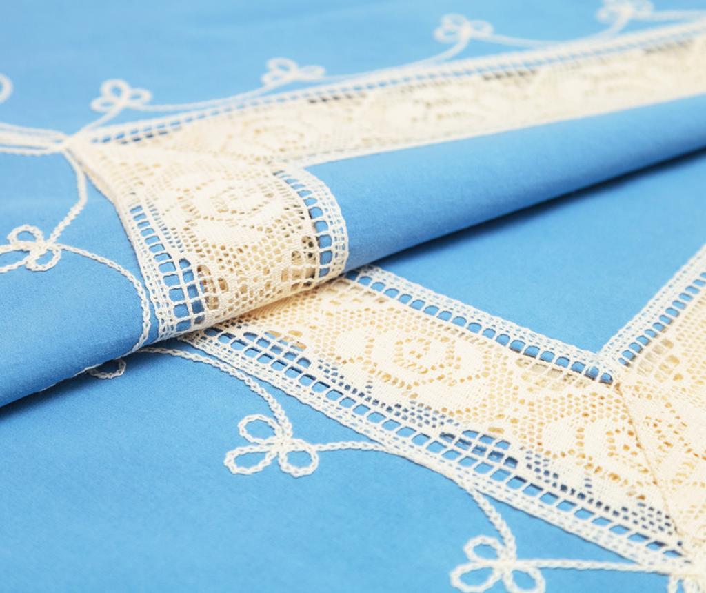 Moselle Blue Asztalterítő 90x90 cm