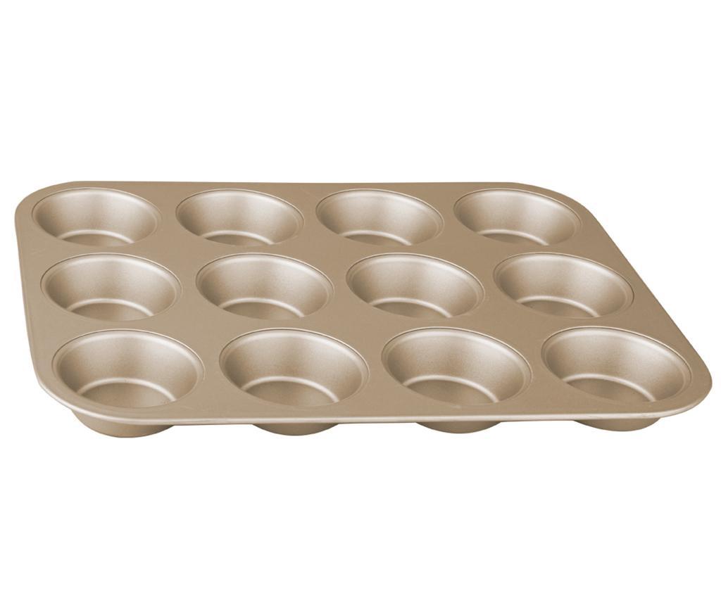Bronze Pastry Muffin sütőforma 12 muffinnak