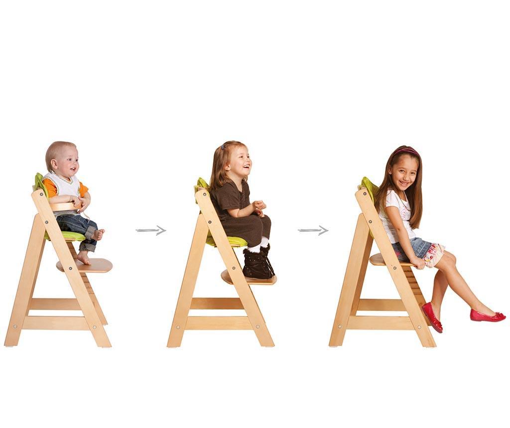 Sit Up Level Three Cream Shiny Etetőszék