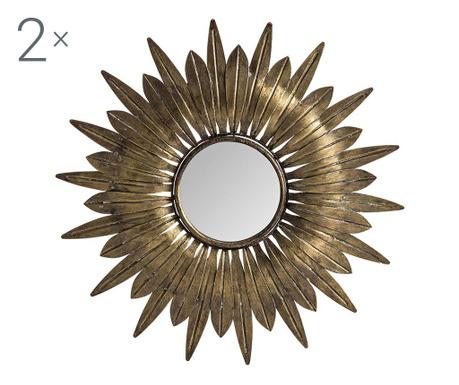 Solar 2 db Dekoráció tükörrel