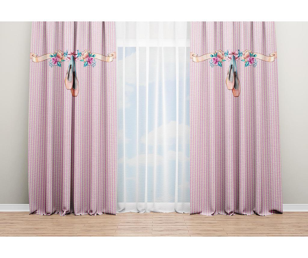 Set 2 draperii Princess 140x240 cm