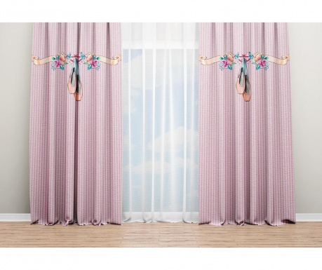 Set 2 draperii Princess 140x240 cm