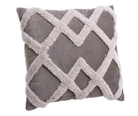 Декоративна възглавница Daphne Grey White 45x45 см