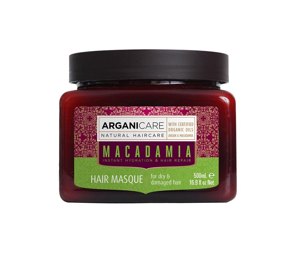 Masca pentru par uscat si deteriorat Macadamia 500 ml
