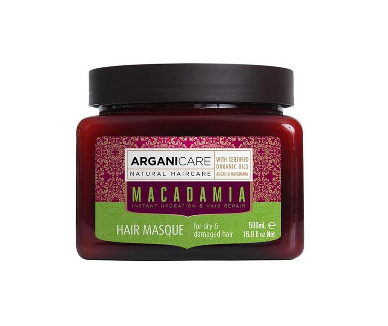 Maska za suhe in poškodovane lase Macadamia 500 ml