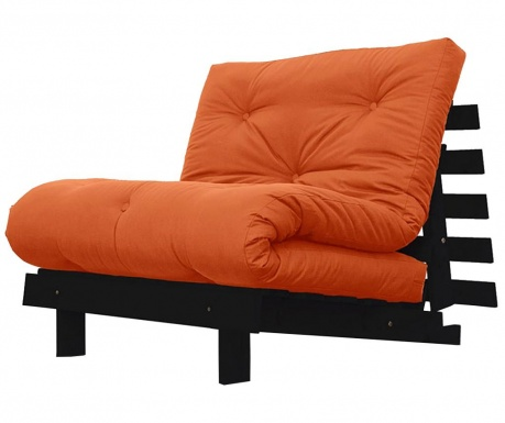 Sofa extensibila Roots Wenge and Orange