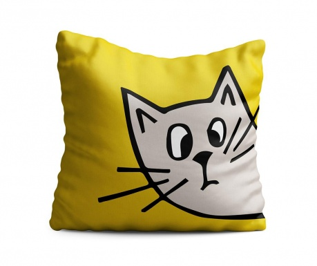 Perna decorativa Cat Ears 43x43 cm