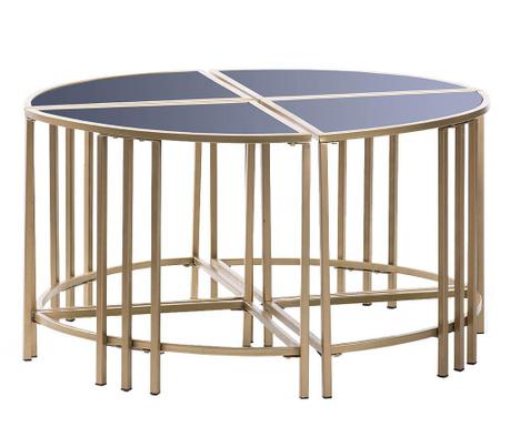 Shelby 4 db Asztalka
